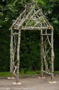 Natural Wedding Arch Gazebo