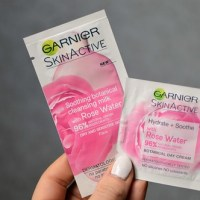 Beauty: Trying out some samples (Garnier SkinActive & Mylène)