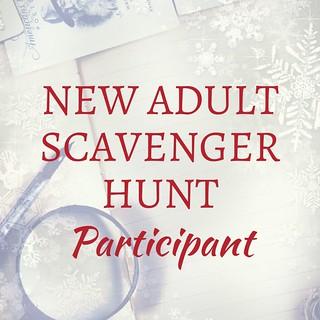 NEW ADULT SCAVENGER HUNT participant 2017