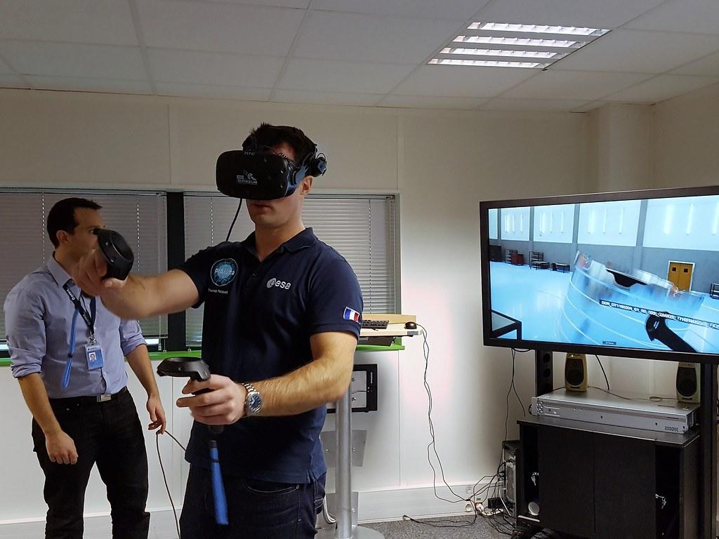 Thomas Pesquet chez Airbus Space