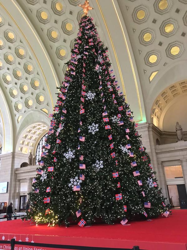 Union station tree 2017