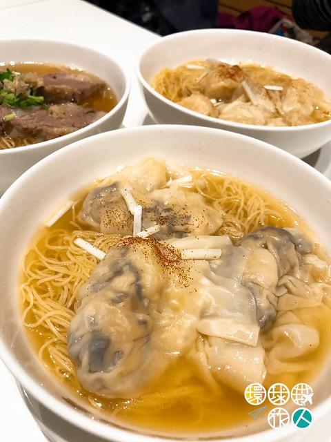鮮蝦水餃麵
