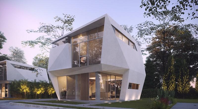 Polygon Home by Eduardo Calma