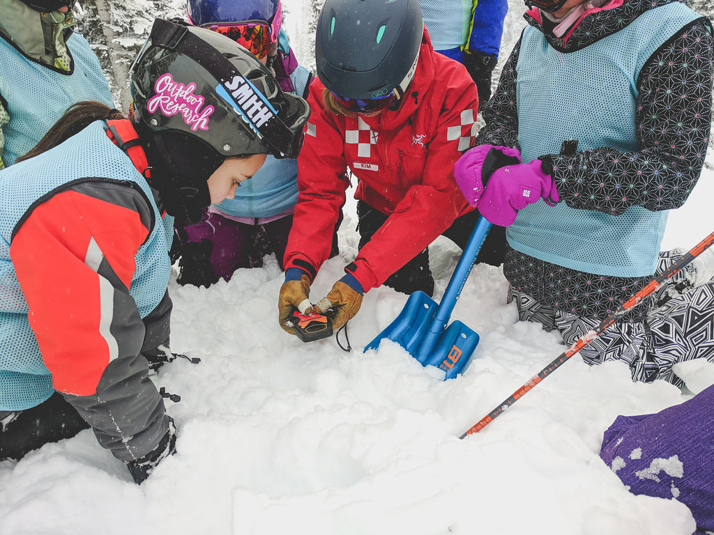 SheJumps Wild Skills Jr. Ski Patrol Day - Crystal Mountain