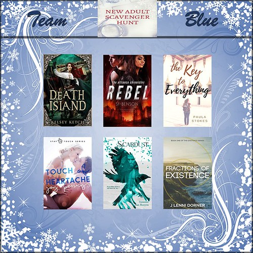 Team Blue #NewASH 2017 - Win these books!