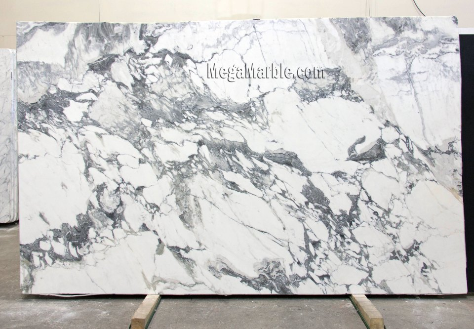 Calacatta Turquiose 2cm Polished marble slabs for countertops
