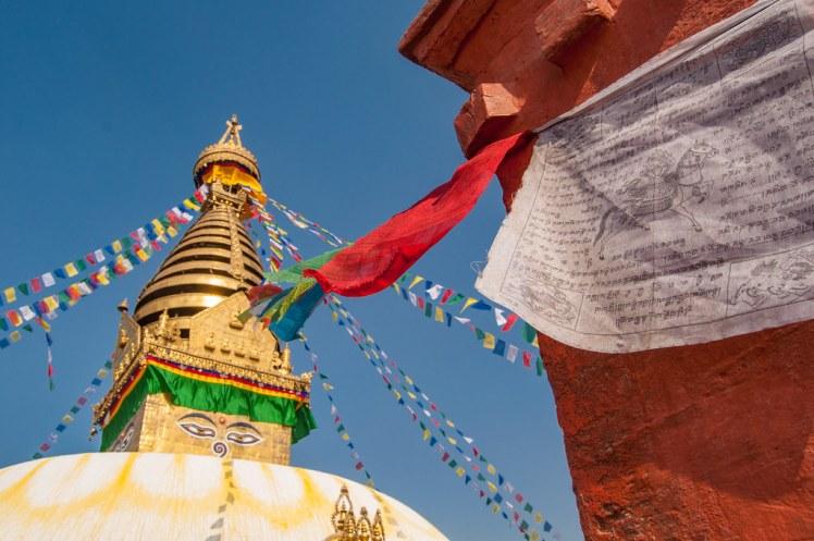 Swayambhunath Stupa (Monkey Temple) in Kathmandu Nepa