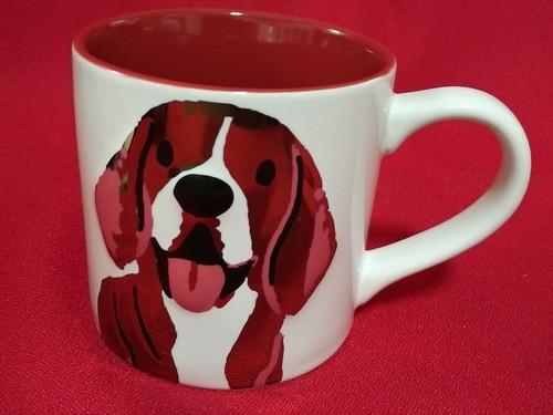 Starbucks White Dog Mug 14 oz.