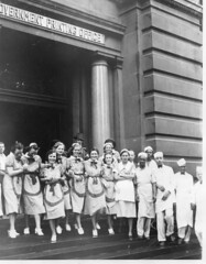 Cafeteria workers strike Government Printing Office: 1938