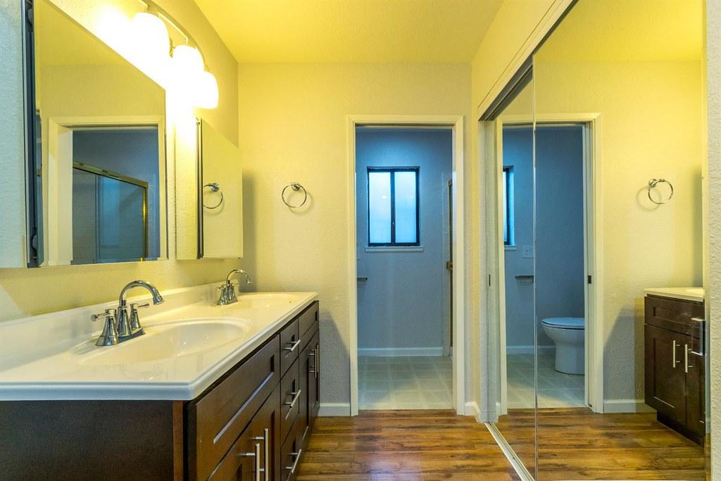 Master Closet and Bathroom
