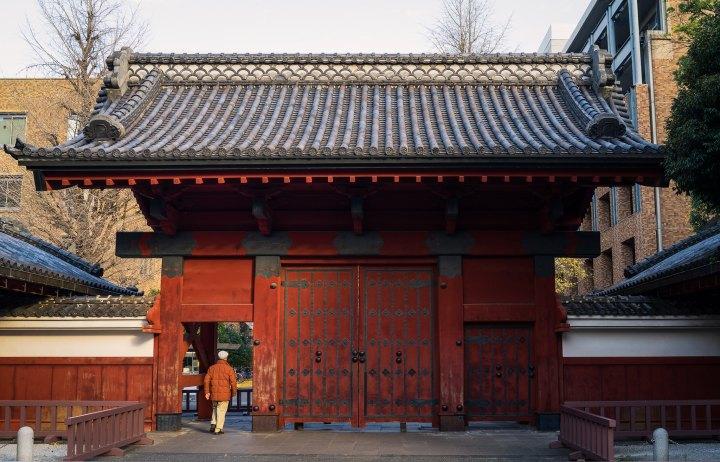 Entering University of Tokyo