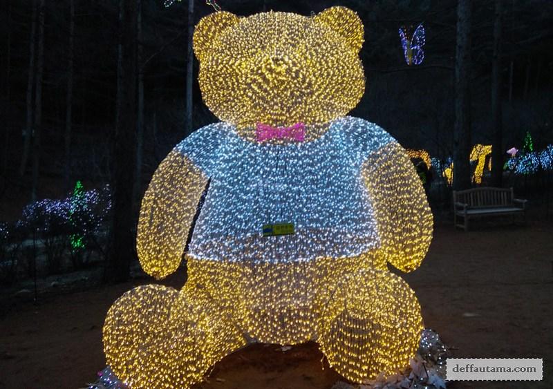 Garden of The Morning Calm - Teddy Bear