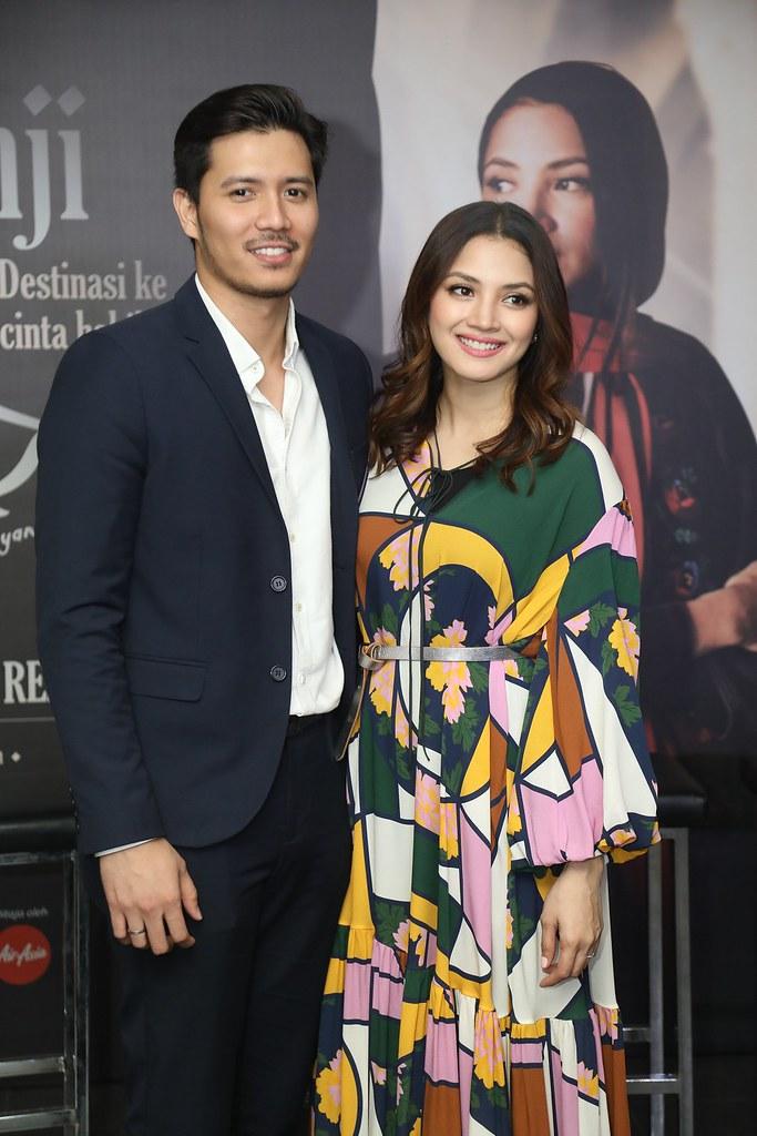 Fattah Amin hadir menyokong Nur Fazura yang mendukung watak utama dalam 'Janji Zehan'