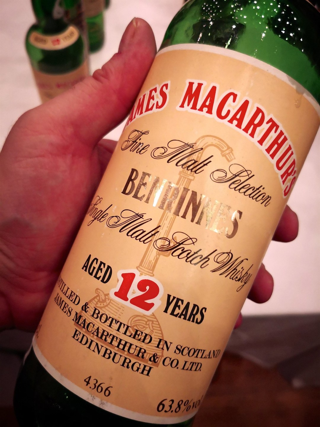 James Macarthur's Benrinnes 12 Years Old