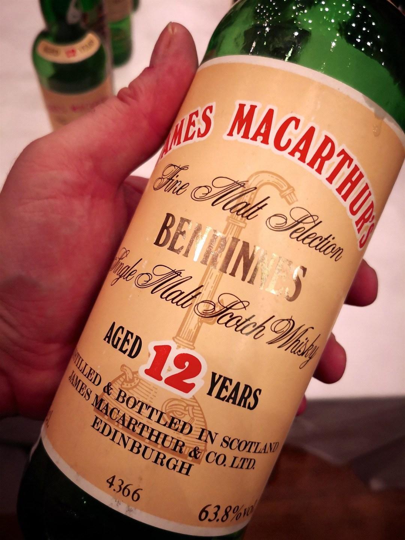 James Macarthur's Benrinnes 12 Years Old