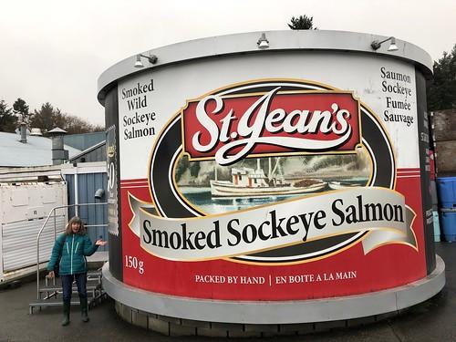 Nanaimo - St. JEans salmon