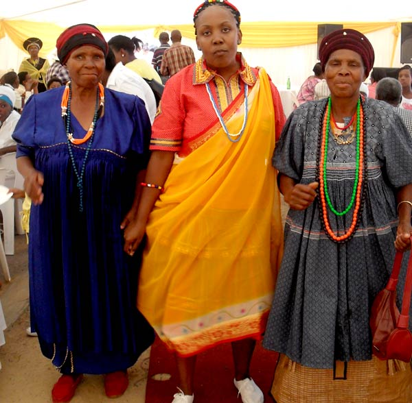 Modern SePedi Traditional Clothing From In South Africa