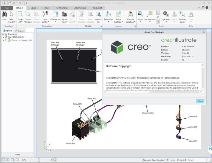 PTC Creo Illustrate 4.2 F000 full license forever