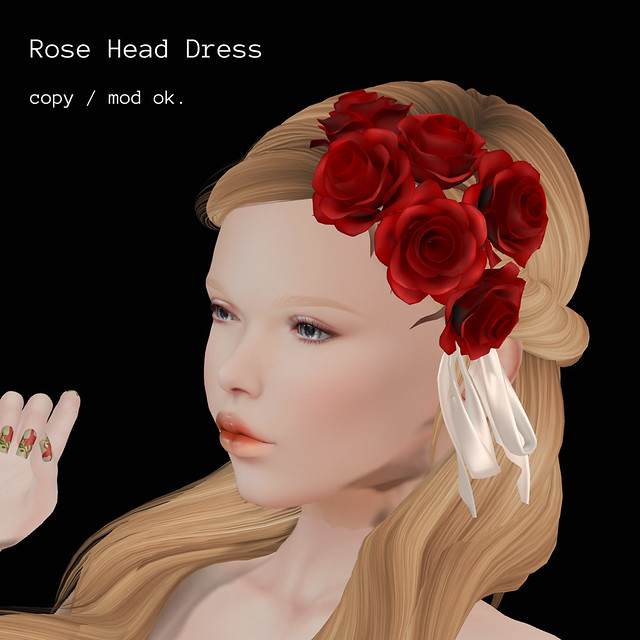 *NAMINOKE*Rose Head Dress