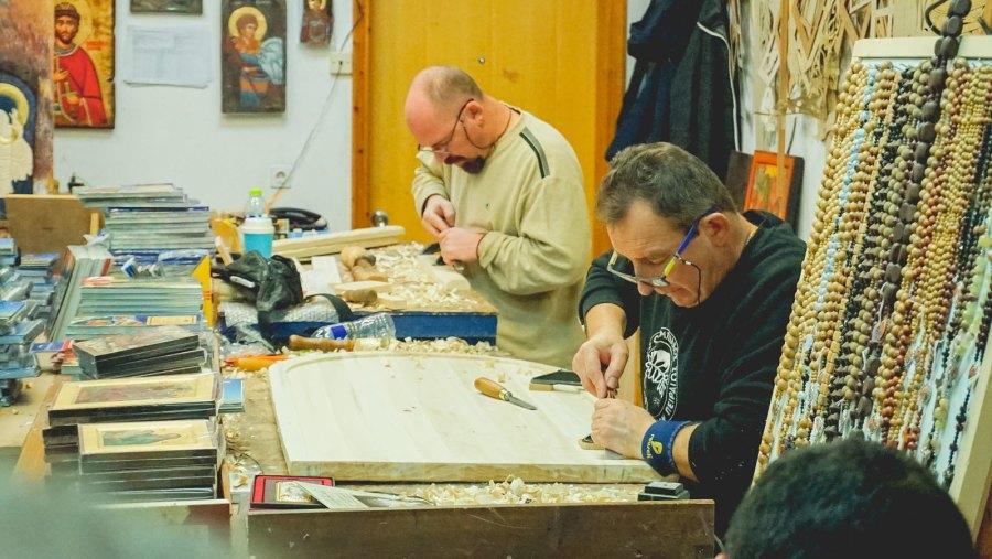 Zindros Byzantine Icons Workshop Meteora (4 of 8)