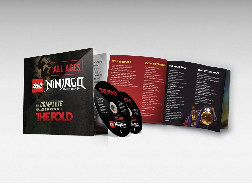 The Fold's Complete Ninjago Discography