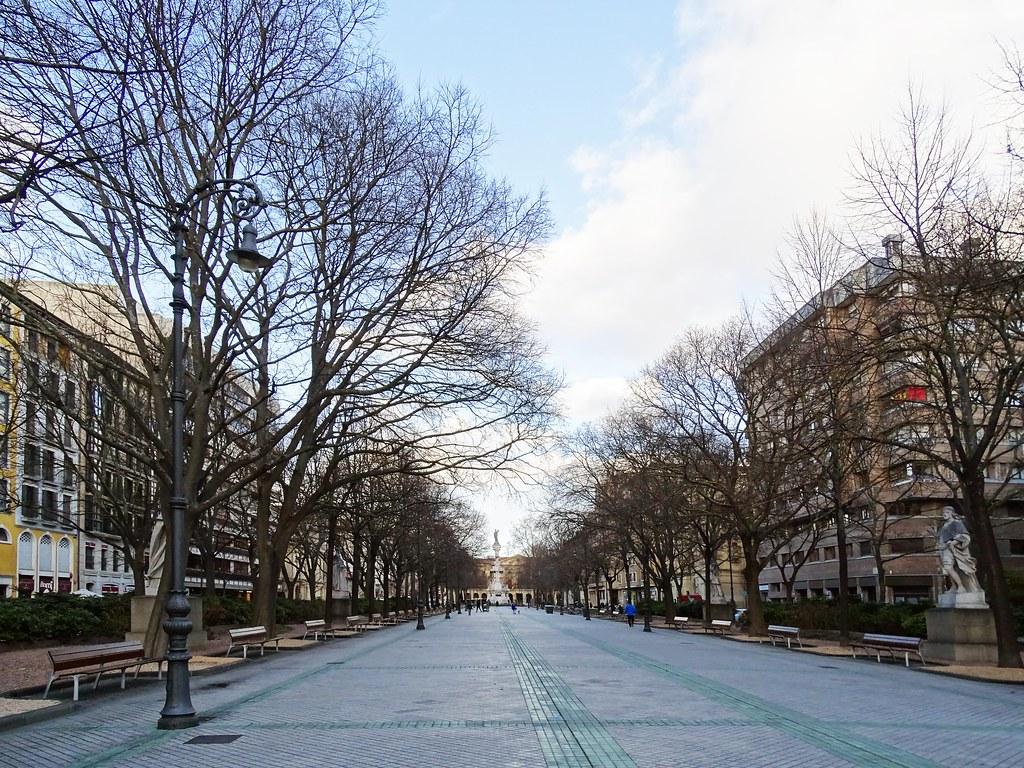 Paseo de Sarasate Pamplona