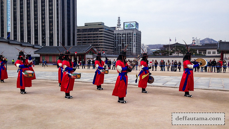 5 hari di Seoul - Guard Changing Ceremony 2
