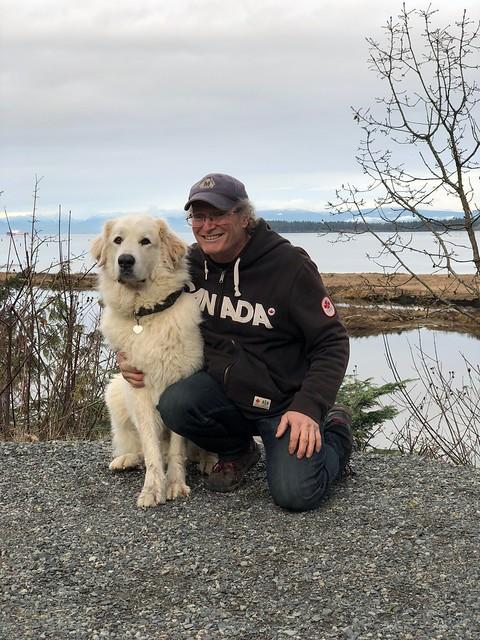 Nanaimo - Keving and Baxter at the camp