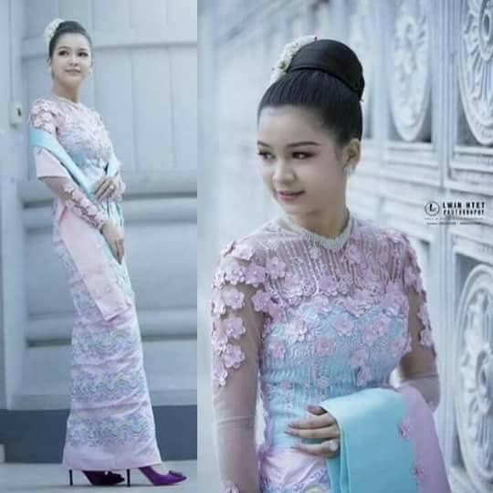 Myanmar Burmese Dress 20182019 Collection Fashionre
