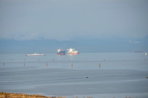 Nanaimo -  ships waiting