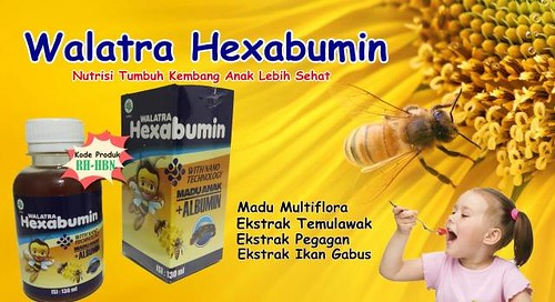 Cara Pemesanan Walatra Hexabumin