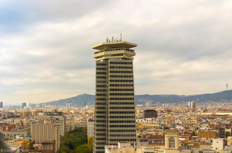 Vista dal Mirador De Colòn