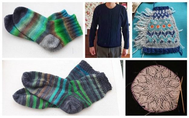 knitting Jan-march
