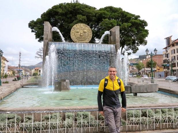 Fuente en Cusco