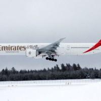 Emirates A6-EPT, OSL ENGM Gardermoen
