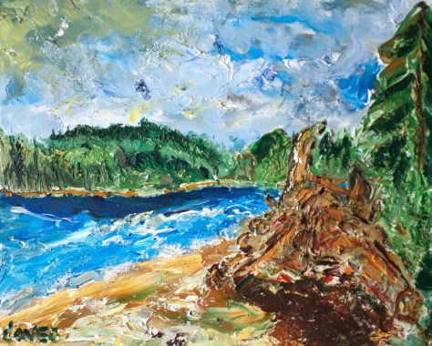 Gravelly Beach series