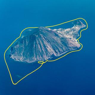 Luftbild Filicudi Giro dell'isola