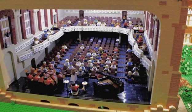 Macky Auditorium Interior, CU Boulder, Colorado