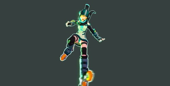 Jet Set Radio Evolution - Gum
