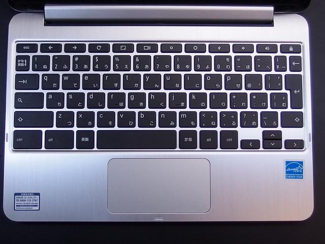 C101PAのキーボードはこんな感じ