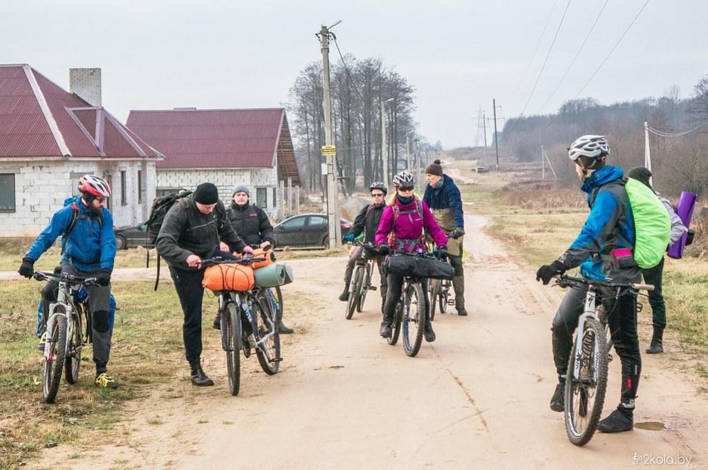 Велопоход Рождественский 2018