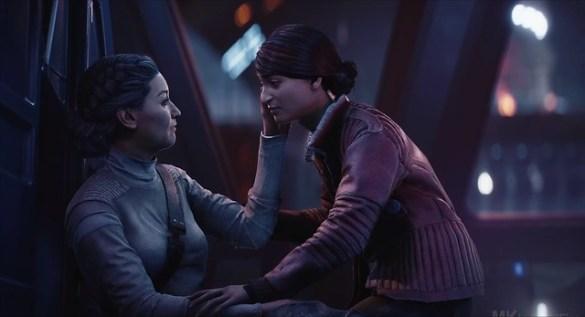 Star Wars Battlefront 2 Resurrection - Iden's Death