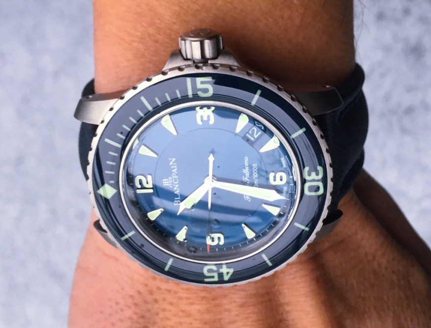 Blancpain Fifty Fathoms Titanium