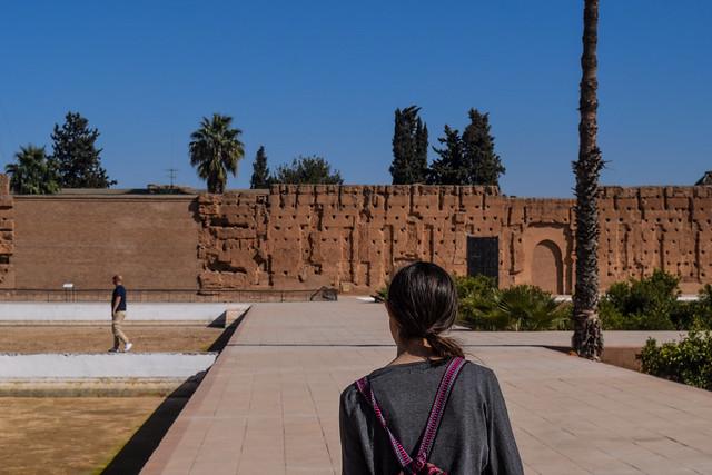 El Badi Central Walkway