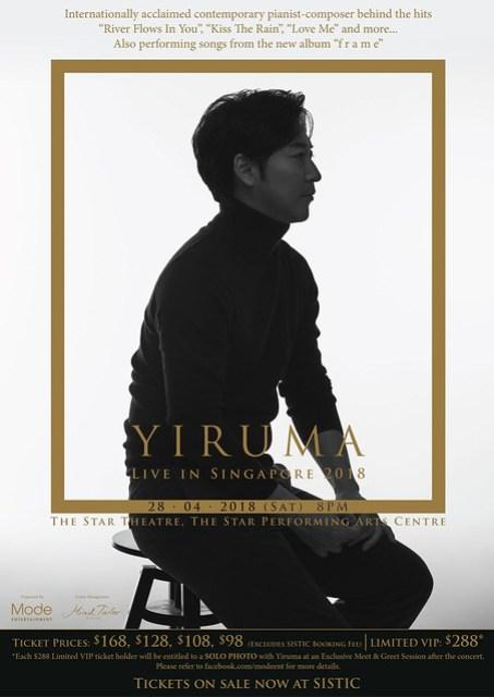 Yiruma Live in Singapore 2018
