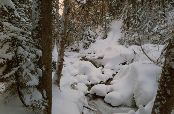 Mt. Tecumseh Winter Hike Gorge
