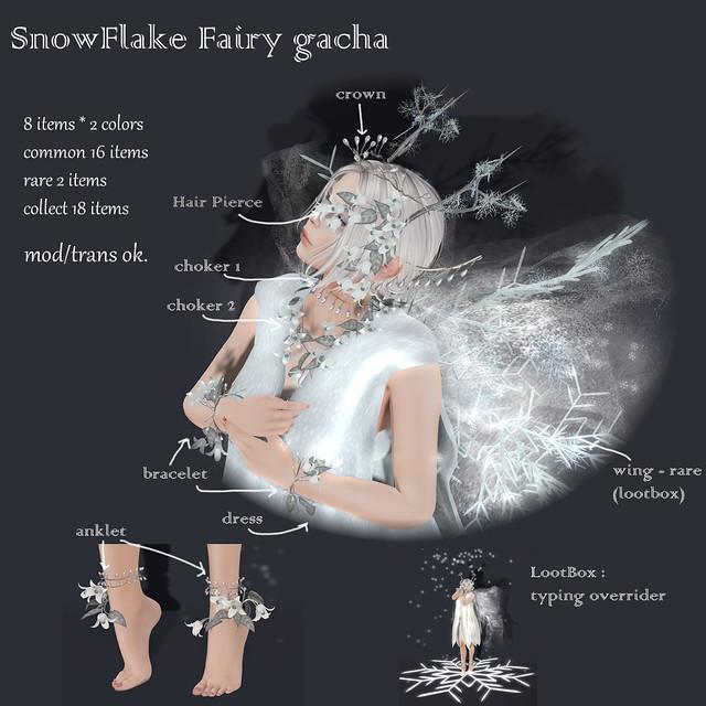 *NAMINOKE*SnowFlake Fairy Gacha