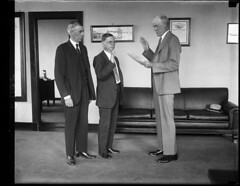 Ryan takes oath as education director at BIA: 1930