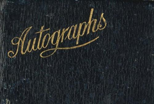 Bath War Hospital - Autograph Book