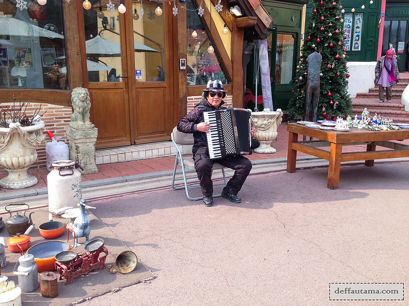 Petite France - Accordion Performer